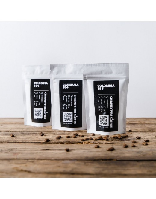 Introductory Taster Packs - Chimney Fire Coffee