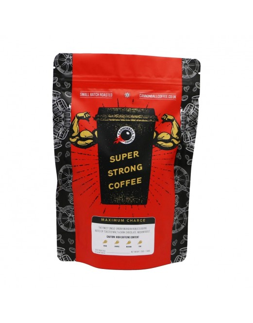 Maximum Charge - Super Strong Coffee