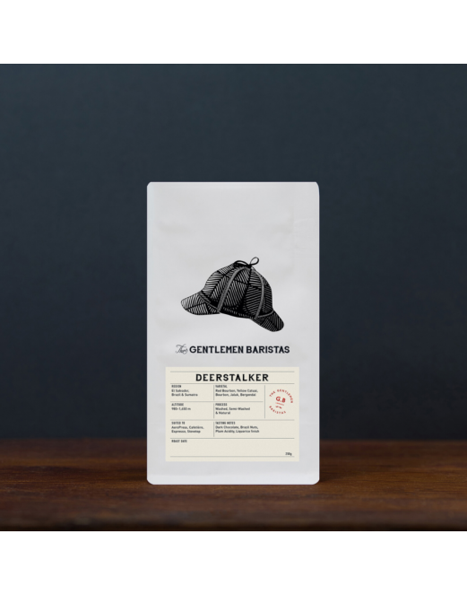 Deerstalker - Blend - El Salvador & Brazil - The Gentlemen Baristas