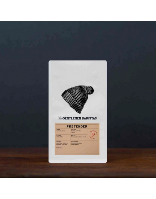 Pretender - Single Origin Decaf - Colombia -- The Gentlemen Baristas
