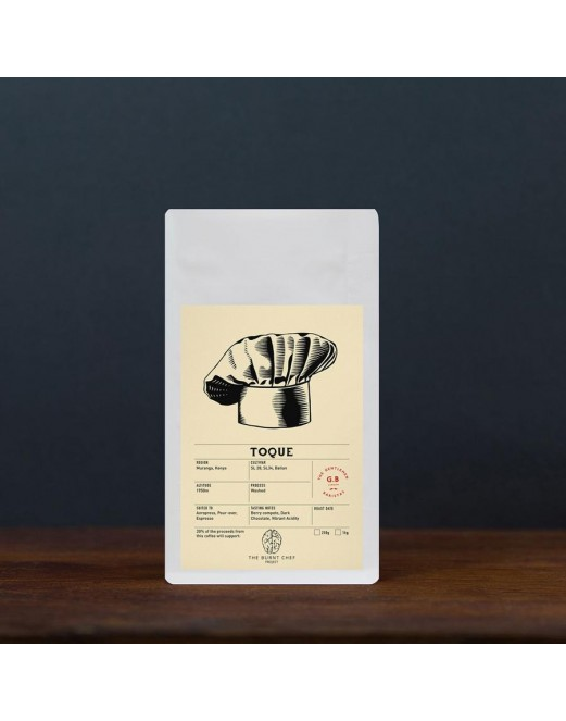 Toque Single Origin Kenya - The Gentlemen Barista Coffee