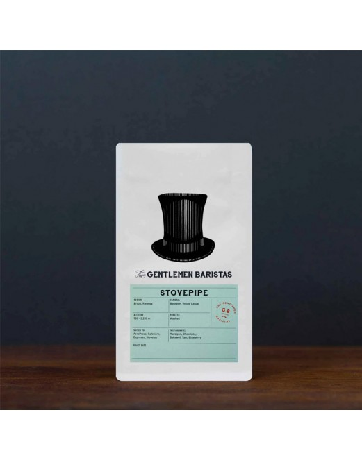 Stovepipe Blend Brazil & Rwanda - The Gentlemen Baristas Coffee